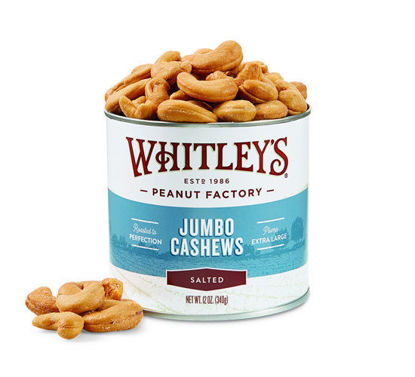 Picture of Salted Jumbo Cashews 12 oz.